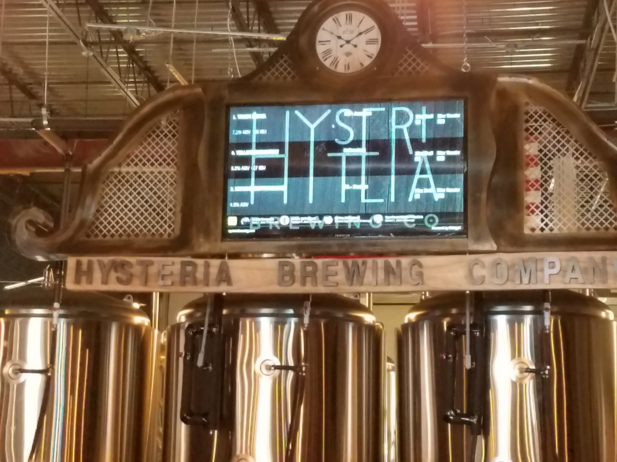 Hysteria Brewing/Lost Ark Distilling