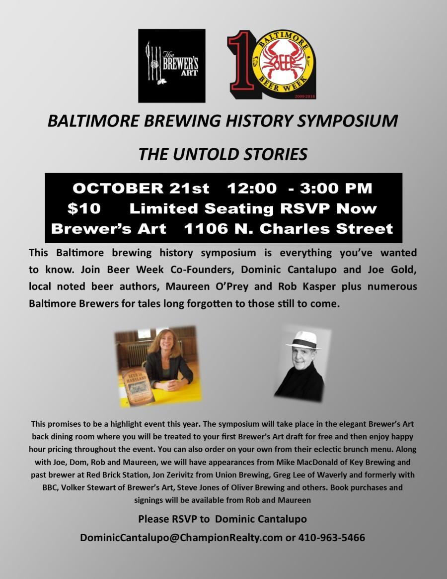 Beer History Symposium